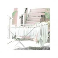 Wäscheständer-gefüllt